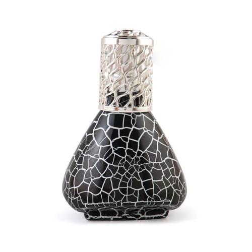 Onyx Crackle Fragrance Lamp by La Tee Da