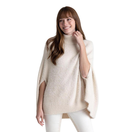 Iced Chalet Poncho by Mer-Sea