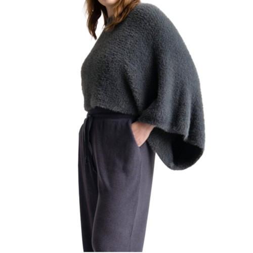Slate Chalet Slouch Sweater by Mer-Sea