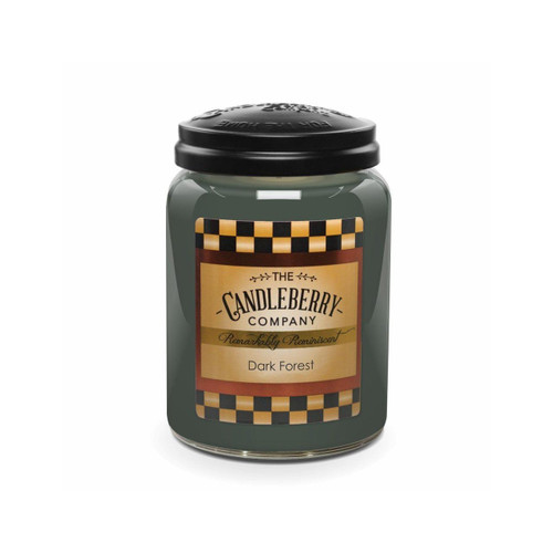 Large Jar Dark Forest 26 oz by Candleberry