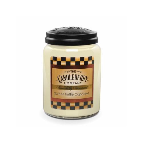 Large Jar Sweet Truffle Cupcake 26 oz by Candleberry