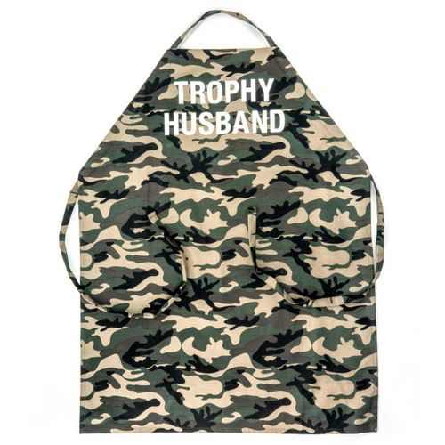Trophy Husband Grill Apron by About Face Designs