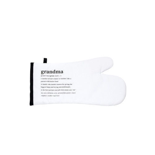 Grandma Oven Mitt by About Face Designs