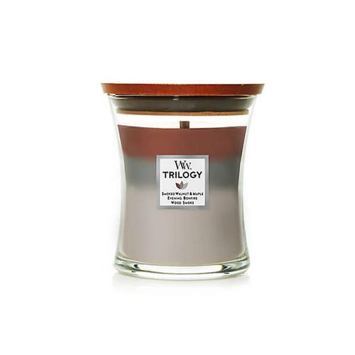 Autumn Embers WoodWick Trilogy Medium Hourglass