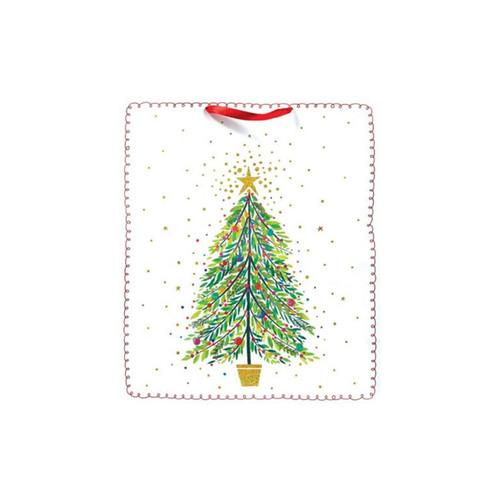 Christmas Tree Magic Tote Bag-Jumbo by Design Design
