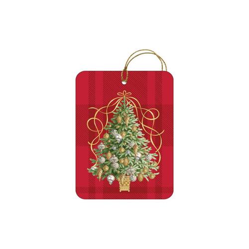 Golden Tannenbaum Gift Tag by Design Design