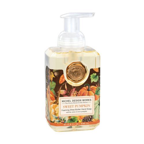 Sweet Pumpkin Foaming Soap by Michel Design Works