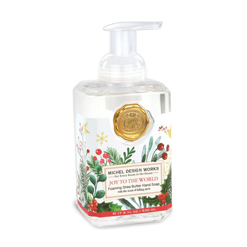 Joy To The World Foaming Soap by Michel Design Works