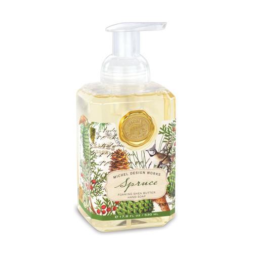 Spruce Foaming Soap by Michel Design Works
