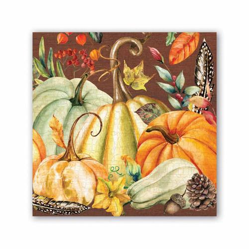 Sweet Pumpkin Cocktail Napkin by Michel Design Works