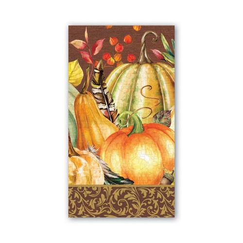 Sweet Pumpkin Hostess Napkin by Michel Design Works