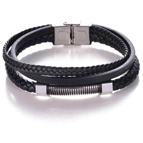 Black On Black Bracelet by Mad Man