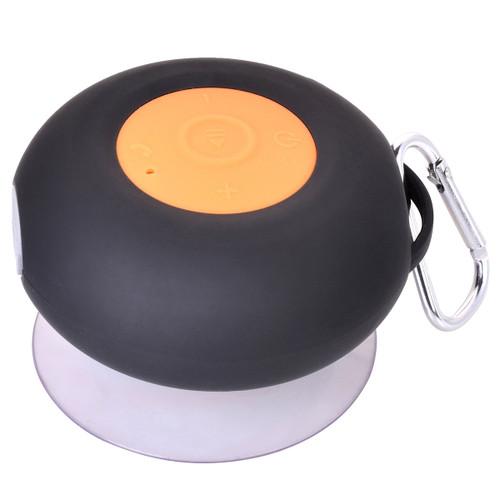 Black Waterproof Speaker by Mad Man