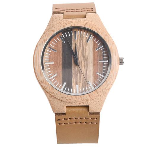 Nova Bamboo Watch by Mad Man