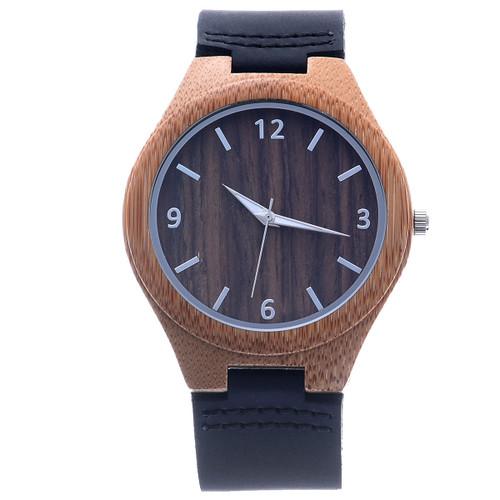 Koa Bamboo Watch by Mad Man