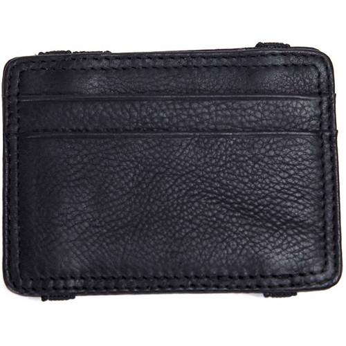 Black Men's Leather Flip Wallet by Mad Man