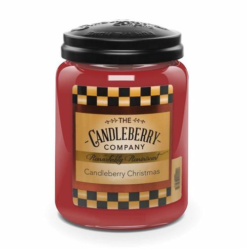 Candleberry Christmas 26oz Large Jar Candleberry Candle