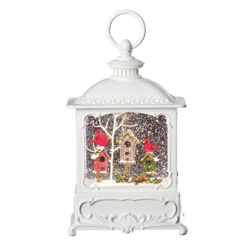 Lighted Swirl Birdhouse Lantern by Roman