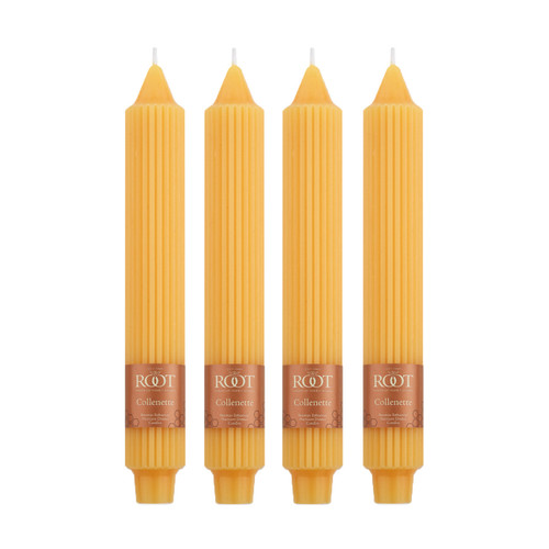 Butterscotch 9-Inch Grecian Collenette 4-Pack by Root