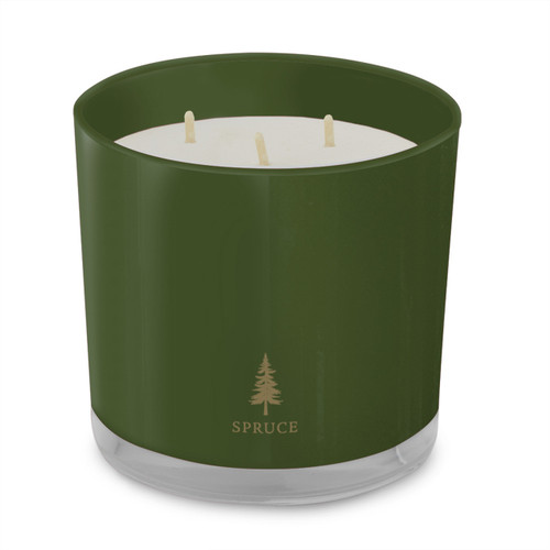 Spruce 3-Wick Candle Holiday Collection by Root