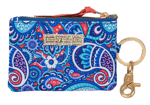 Paisley ID Coin Holder By Simply Southern