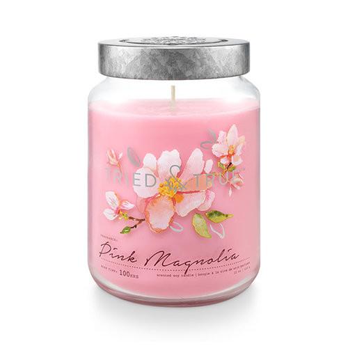 Pink Magnolia 22.2 oz. XL Jar Candle by Tried & True