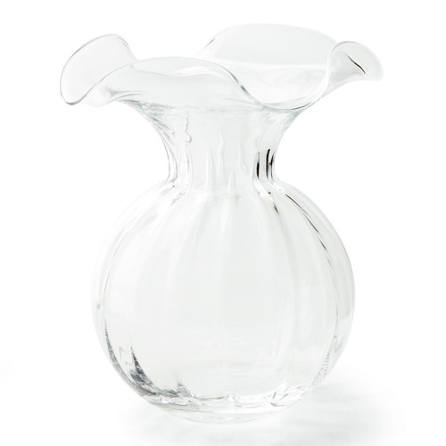 Vietri Hibiscus Large Fluted Vase - Special Order