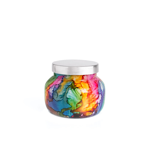 No. 6 Volcano 8 oz. Rainbow Petite Jar Candle by Capri Blue