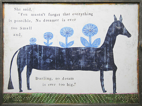 """24"""" x 36"""" Everything Is Possible Art Print by Sugarboo Designs - Special Order"""