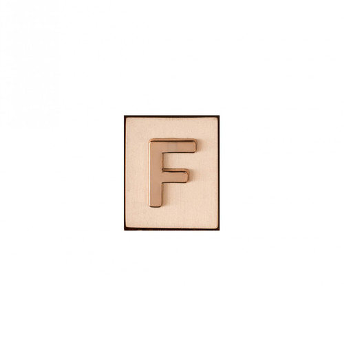 """""""F"""" AKA Monogram Letter & Icon Spacer by Spartina 449"""
