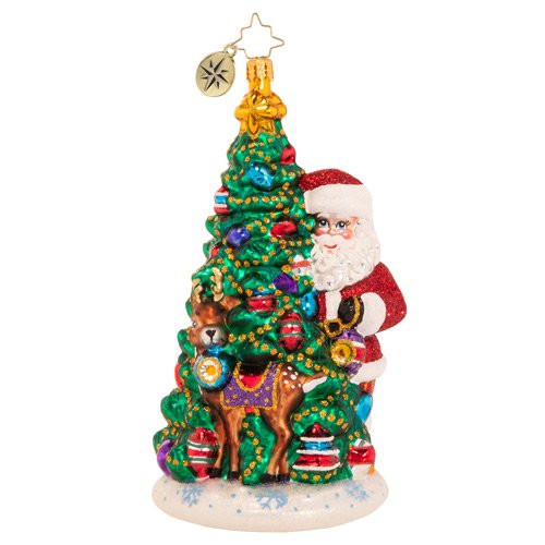 Two Talented Tree Trimmers Ornament by Christopher Radko