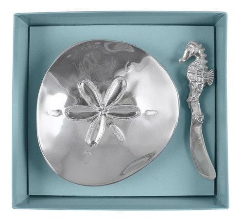 Sand Dollar Dish Set by Mariposa - Special Order