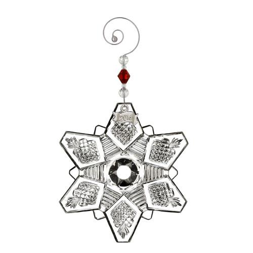 2016 Annual Snowcrystal Pierced Ornament by Waterford