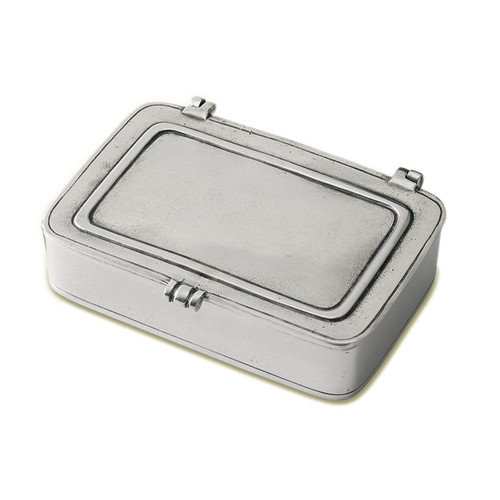 Large Lidded Box by Match Pewter