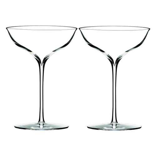 Elegance Champagne Belle Coupe Pair by Waterford - Special Order