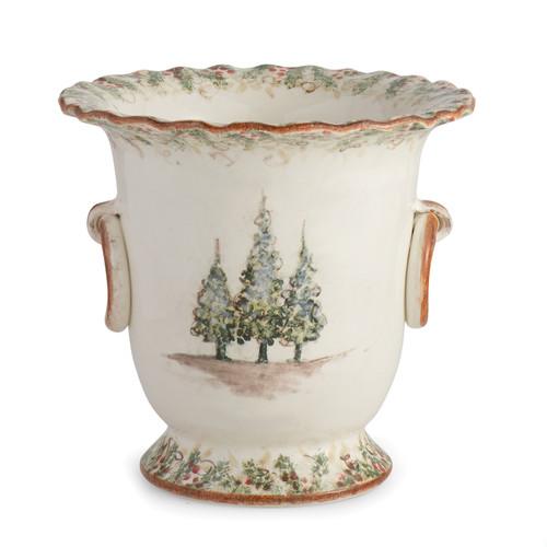 Natale Champagne Bucket - Arte Italica