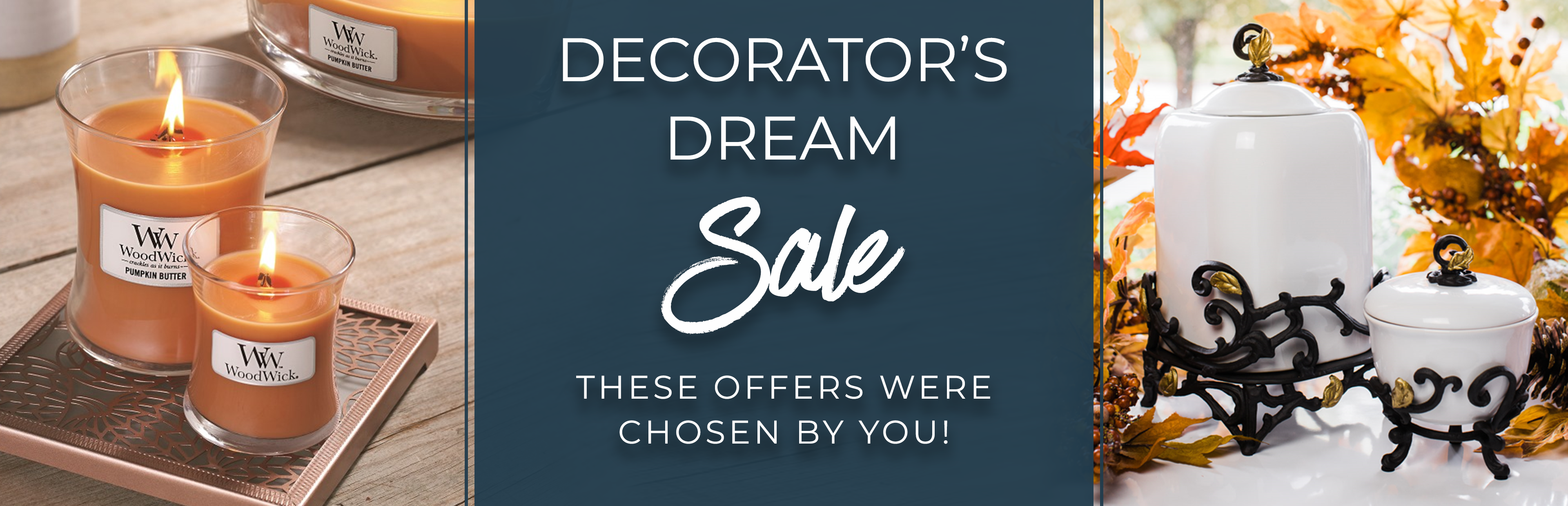 Decorators Dream Sale - These Offers were chosen by you