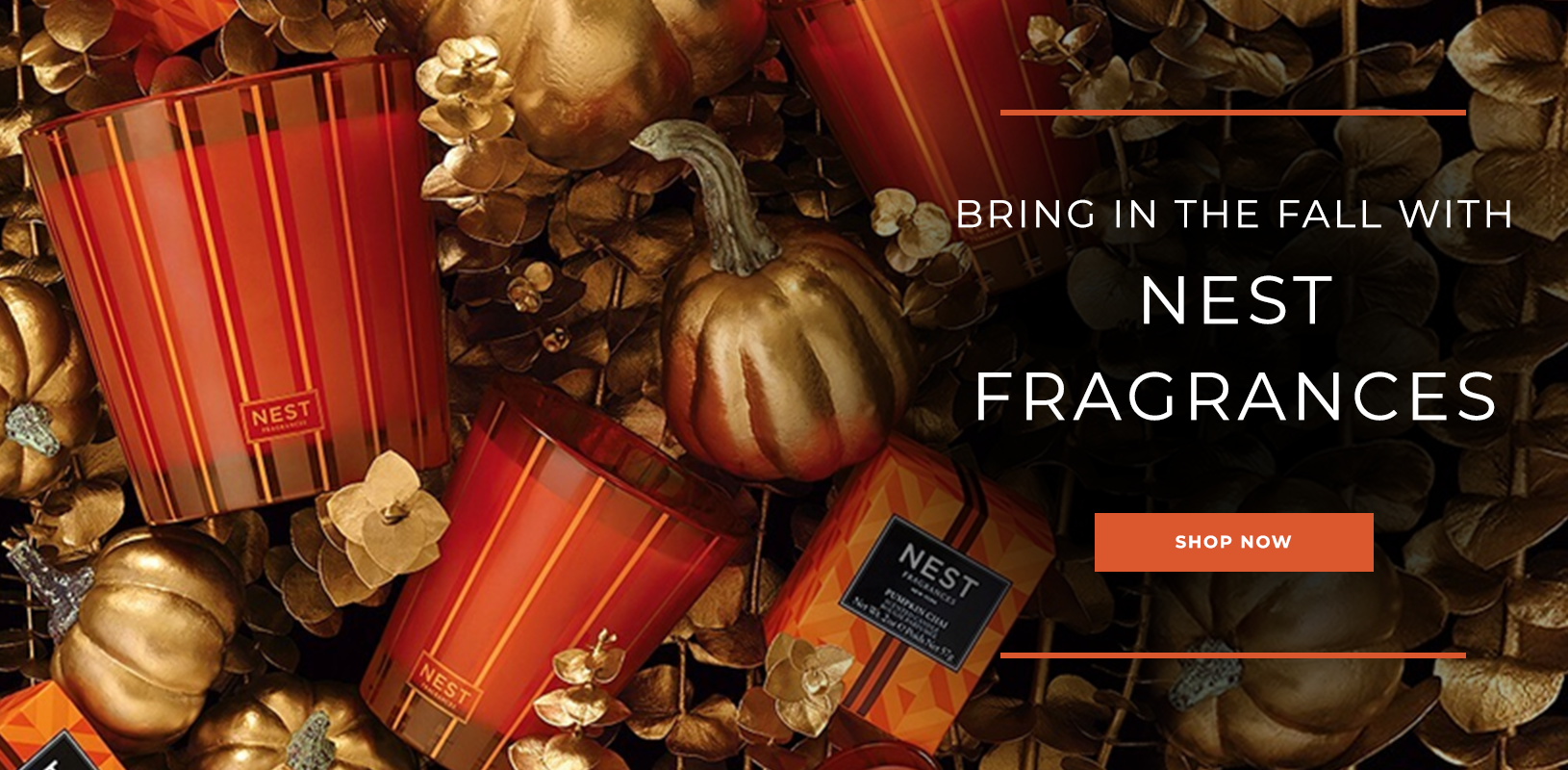 Bring in the Fall with NEST Fragrances