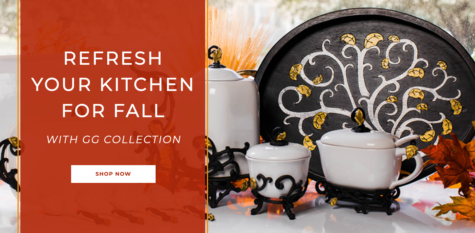 Refresh your kitchen for Fall with GG Collection