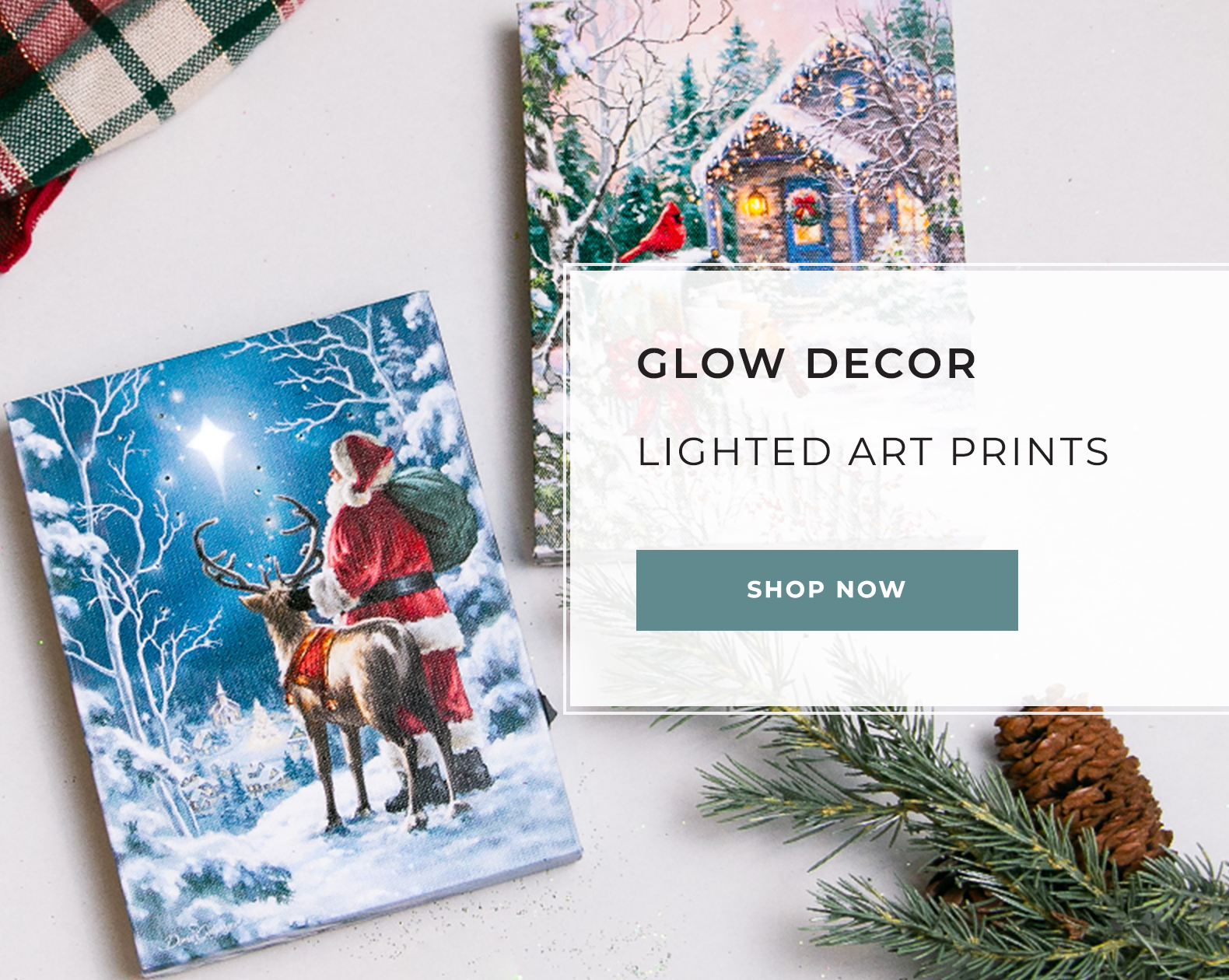 Glow Decor - Lighted Art Prints