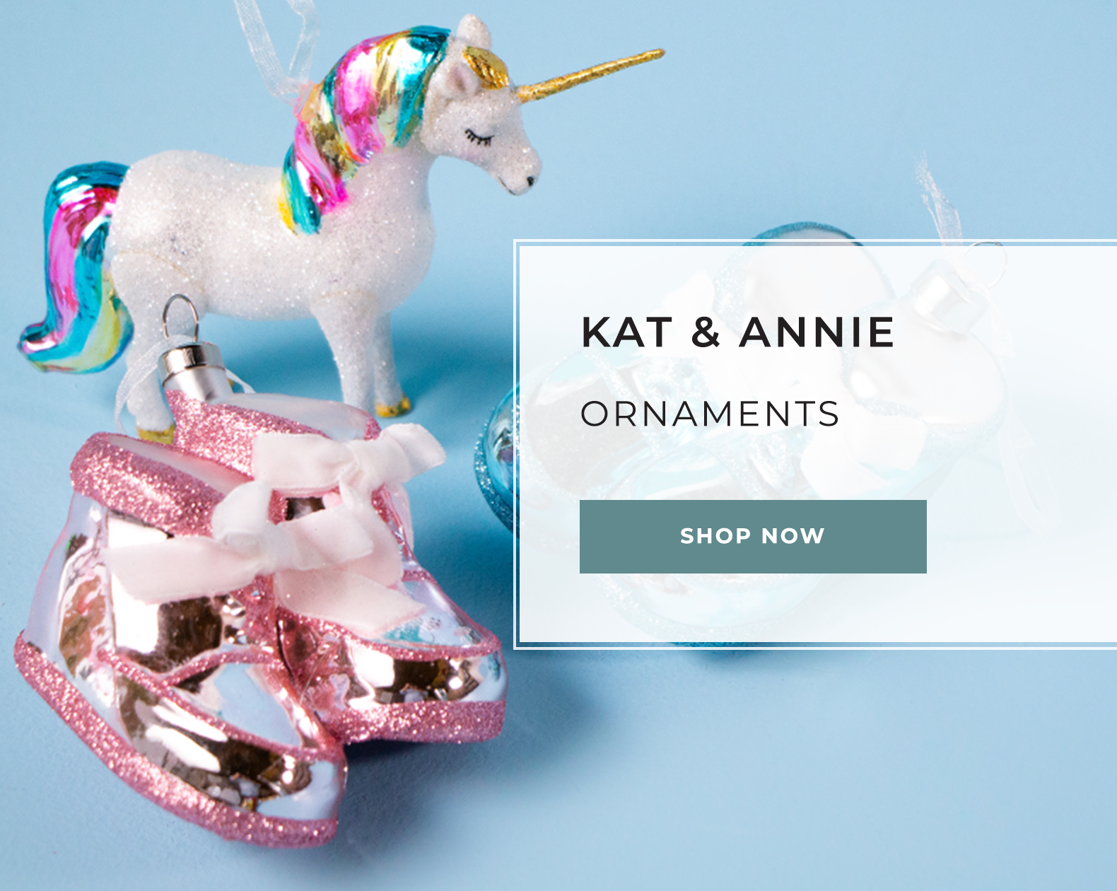 Kat and Annie - Ornaments
