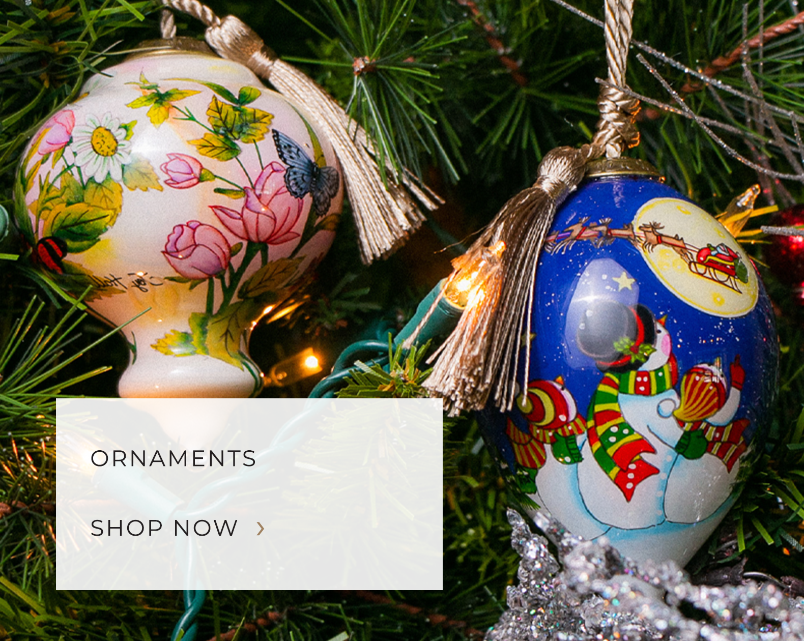 Ornaments - Christopher Radko, Old World Christmas, Inner Beauty Gifts, Kat & Annie, Coton Colors