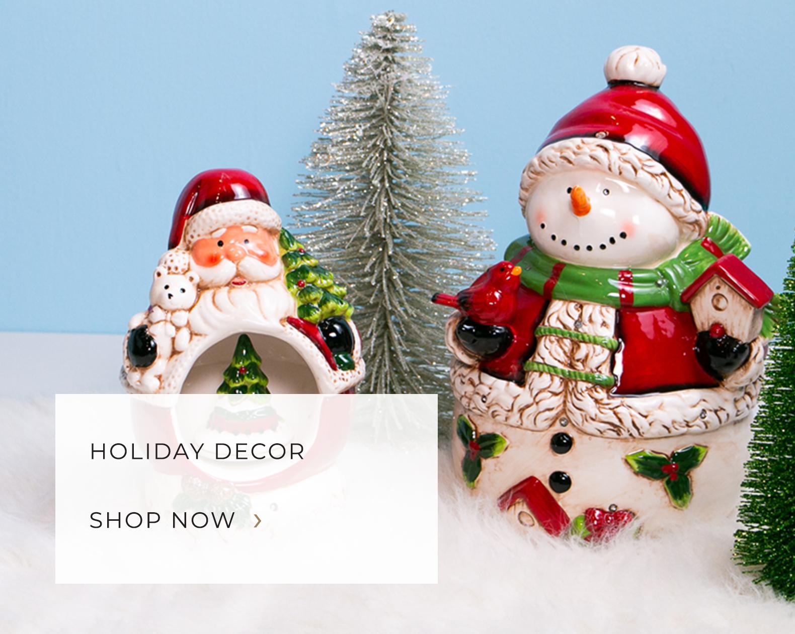 Holiday Decor - Figurines, Wreaths, Wall Decor