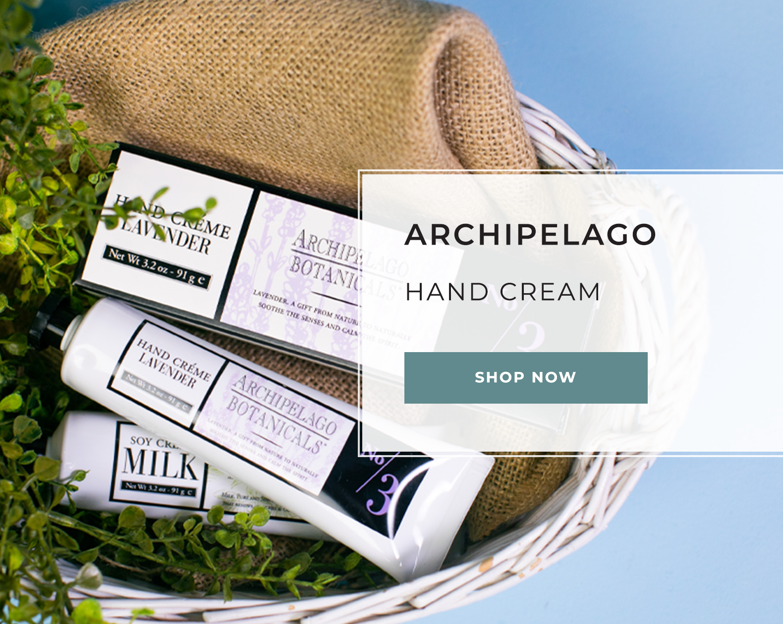 Archipelago Hand Cream