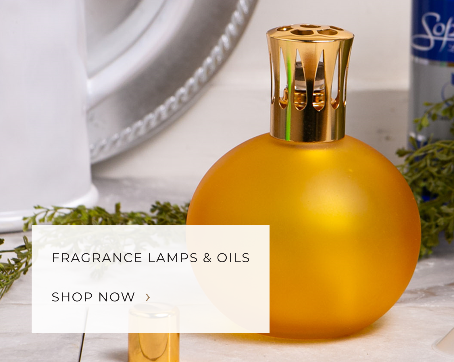 Fragrance lamps and oils