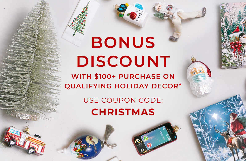 Christmas in July Mega Sale - Christopher Radko
