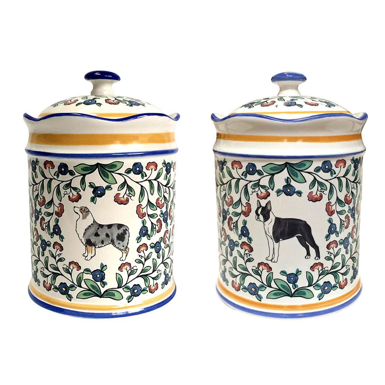 Small Dog Treat Jars