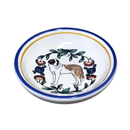 Saint Bernard  Ring Dish (Dipping Bowl)