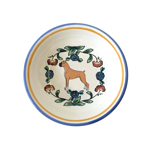 Boxer Dog ring dish /dipping bowl by shepherds-grove.com