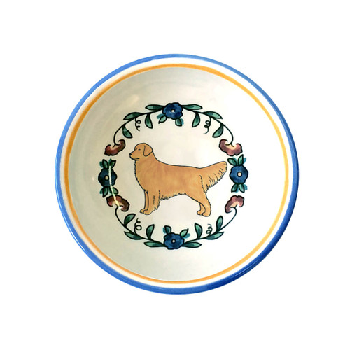 Golden Retriever ring dish (dipping bowl) from shepherds-grove.com
